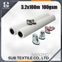 Buy cheap 120gsm 3200mm High Speed Printing sublimation transfer paper for cotton from wholesalers