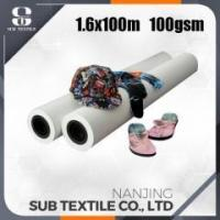 Buy cheap EVO series fast dry smooth printing sublimation transfer paper 100gsm from wholesalers