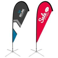 Buy cheap Custom flags customized teardrop flags cheap low price from wholesalers