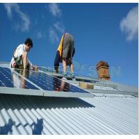 Buy cheap PV Solar Panel Mounting System On Tin Roof With L Feet from wholesalers