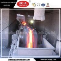 China Conveyor Belts 0-800c High Temperature Heat Resistant Conveyor Belts for Steel Plant,Ore, Coke on sale