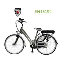 Buy cheap Electric City Bike High quality 28 inch strong lady electric bicycle 250W with CE from wholesalers