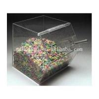Buy cheap Acrylic Box Countertop Container Acrylic Candy Holder Display Box Lucite Plexiglass from wholesalers
