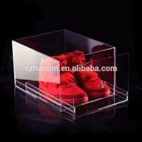Wholesale clear shoes box for Air Jordan Adidas Nike New Balance Converse display from china suppliers