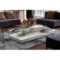 Buy cheap America Finley Rectangular Marble Coffee Table With Glass Top from wholesalers