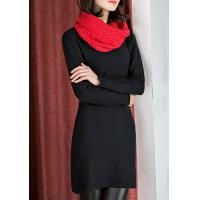 Lafoppa Crew Neck Knitted Dress