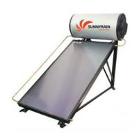 Pressurzied Solar Water Heater With Flat Plate Solar Collector