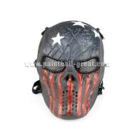 Wholesale Metal Mesh Eye Protect Military Full Face Skull Skeleton Airsoft Mask from china suppliers
