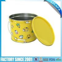 Buy cheap Metal Bucket & Basin 【BU-60】Tin Bucket with Lid from wholesalers