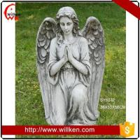 Buy cheap Garden decoration MGO angel figurines statue for sale from wholesalers
