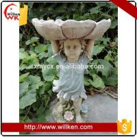 Buy cheap Animal Statues Home & Garden decoration resin wild bird feeder from wholesalers