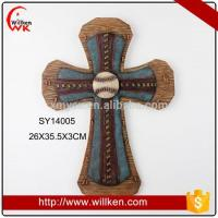Wholesale Animal Statues Religious gifts large resin cross crucifix from china suppliers