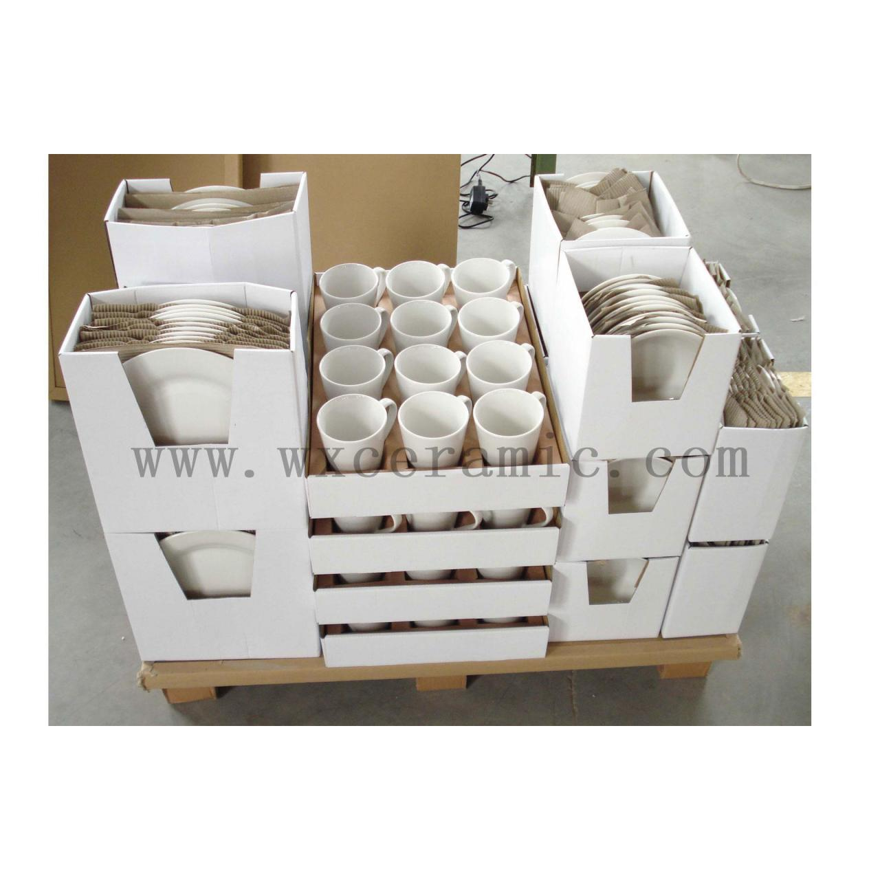 Wholesale paper pallets for ceramic dinnerware, dinner sets. from china suppliers