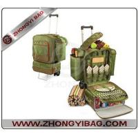 Buy cheap Rolling deluxe picnic cooler from wholesalers
