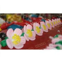 Buy cheap Wedding Party Or Event Decoration Flowers Replica Inflatable Artificial Flower Chain from wholesalers