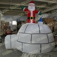 Buy cheap Best Selling Inflatable Grinch Santa in Chimney from wholesalers