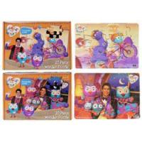 Buy cheap Getta1Games Giggle & Hoot 20pc Wooden Boxed puzzle - 2 Designs from wholesalers