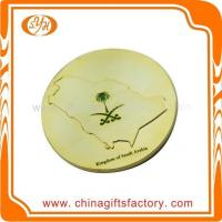 Wholesale Custom high quality zinc alloy metal shiny gold plated souvenir coin from china suppliers
