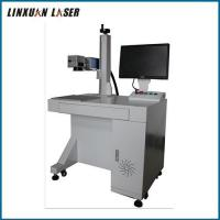 Buy cheap Steel Plate Lighter Udisk Key Chain Fiber Laser Marking Spray Machine On All Metals from wholesalers