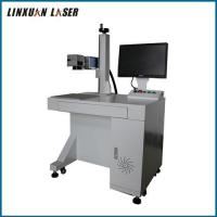 Buy cheap 30W Laser Marking Machine Fiber Equipment With Electric Auto Up-Down Lifting from wholesalers