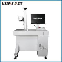 Buy cheap Pet Bottles Keyboards ID Card Animal Ear Tag Filber Laser Marking Machine 50Watt Price from wholesalers