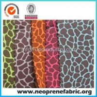 Buy cheap Neoprene Fabric Customize Printed Neoprene Fabric from wholesalers