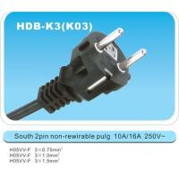 Wholesale UK BS power cords K03 from china suppliers
