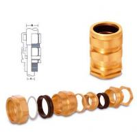 Buy cheap Aluminium Components Brass E1W Cable Glands from wholesalers