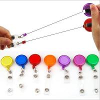 Buy cheap Recoil Key Ring Retractable Pull Chain with Belt Clip Ski Pass ID Holder from wholesalers