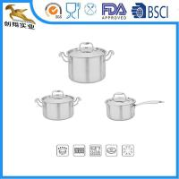 Buy cheap 18/10 Stainless Steel Cookware pot set from wholesalers
