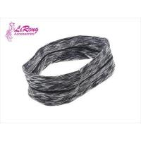 Buy cheap Psychedelic striped elastic cloth art wide hair band from wholesalers