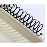 Buy cheap Good Quality 12 Inch and 36 Inch Metal Single Spiral Binding Coil for Book Binding Supplies from wholesalers