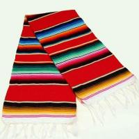 """Mini Mexican Serape Runner 24"""" x 56"""" (color varies) Manufactures"""