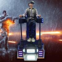 Buy cheap Amazing Indoor Game 1 Player Standing Up 9D VR Simulator Arcade Game Machine from wholesalers