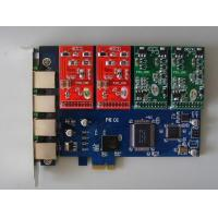 Wholesale Asterisk Card YD-TDM400E_A PCI 4fxs/fxo express Asterisk card from china suppliers