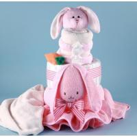 Buy cheap Unique Baby Gifts Ricki Rabbit Diaper Cake Baby Gift from wholesalers