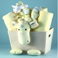 Buy cheap Unique Baby Gifts Plush Giraffe Baby Shower Gift Basket from wholesalers
