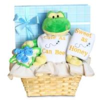Buy cheap Personalized Baby Gifts Forever Baby Book Cute as Can Bee Baby Boy Gift Basket from wholesalers