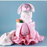 Buy cheap Personalized Baby Gifts Ricki Rabbit Diaper Cake Personalized Baby Gift from wholesalers