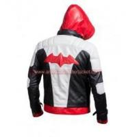 Batman Jason Todd Red Hood Leather Jacket and Vest Manufactures