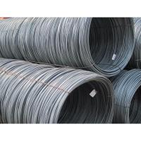 Buy cheap hot rolled sae Q195 mild steel wire rod from wholesalers