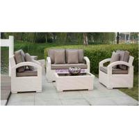 best wicker rattan sofa and table set WF-A003