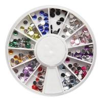 Nail Decorations 019 12 colors rhinestones in wheel 2.0mm Manufactures