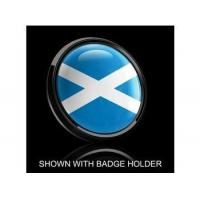 Wholesale Dome Style 3 Inch Magnetic Badge - Scotland Flag from china suppliers