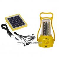 Buy cheap solar lantern for camping SL01B from wholesalers