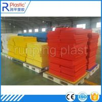Wholesale Polypropylene corrugated plastic coroplast layer pads from china suppliers