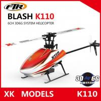 Buy cheap Wltoys XK K110 Blash 6CH Brushless 3D6G System radio control RC Helicopter RTF r from wholesalers