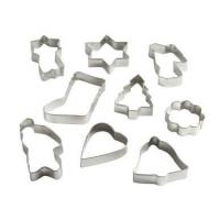 Buy cheap baking Metal Cookie Cutters on Hanging Triangle from wholesalers