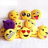 Emoji Decorative Throw Pillow Stuffed Smiley Cushion Home Decor For Sofa Couch Chair Toy Emotional Manufactures