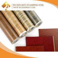 Buy cheap WPC Door Wood Pattern Anti Scratch Hot Stamping Foil heat Press Transfers Film from wholesalers
